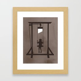 Swing Blade Framed Art Print