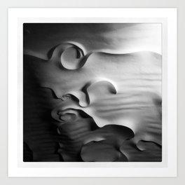 POEM OF A CEILING - NO.1 Art Print