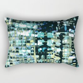 City Never Sleeps 1 Rectangular Pillow