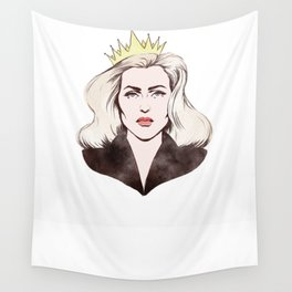 All hail the queen Wall Tapestry