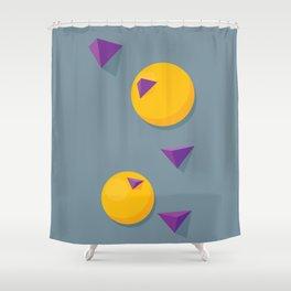 Volumes Shower Curtain