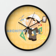 Architect Wall Clock