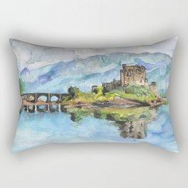 Eilean Donan Castle Rectangular Pillow