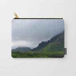 Rainy O'ahu Carry-All Pouch
