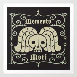 Rest In Peace-Memento Mori Art Print