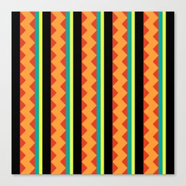 Pizzazz: 5 of 9 Canvas Print