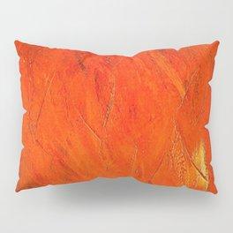 Vintage Rustic Orange Stucco Texture - Corbin Henry Pillow Sham