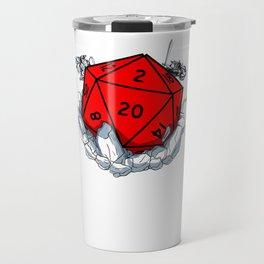 Gamer Dungeon RPG dice tabletop funny gift Travel Mug
