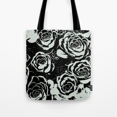 Succulent Stamp on Light Green Tote Bag