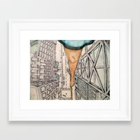 vertigo Framed Art Prints featuring Vertigo by Rene Robinson