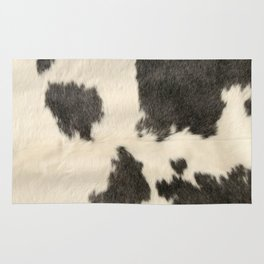 Black & White Cow Hide Rug