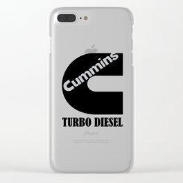Turbo diesel Clear iPhone Case