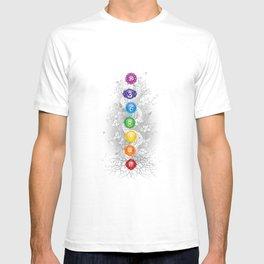 7 Chakra Symbol Tree Of Life #26 T-shirt