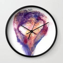 Pepper Kester's Angelic Wings Wall Clock