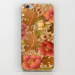 Fall Flowers iPhone Skin