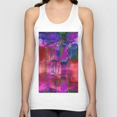 Infused colors Unisex Tank Top