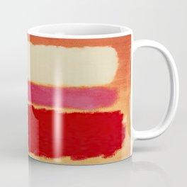 ROTHKO-WHITE CLOUD OVER RED Coffee Mug