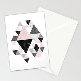 Abstract Geometri Stationery Cards