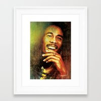 marley Framed Art Prints featuring Marley by medal XD