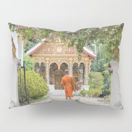 Luang Prabang Monk Pillow Sham