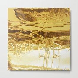 GOLD! Metal Print