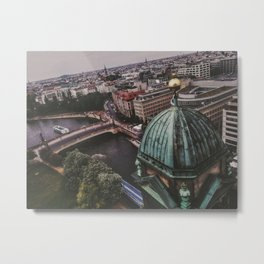 Berlin High View Metal Print