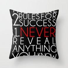 SUCCESS Throw Pillow