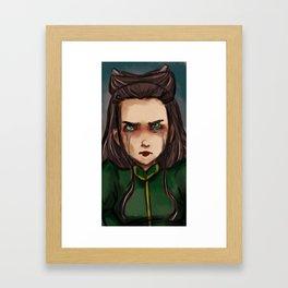 Journey into Mystery, Leah Framed Art Print