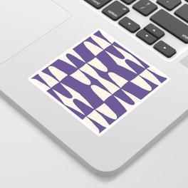 Zaha Ultra Violet Sticker