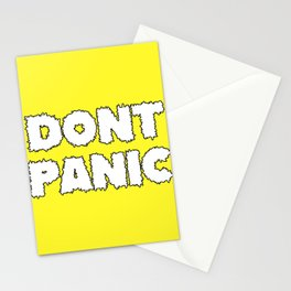 Dont Panic Stationery Cards