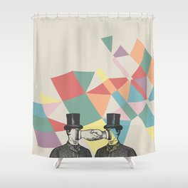 Join Hands Shower Curtain