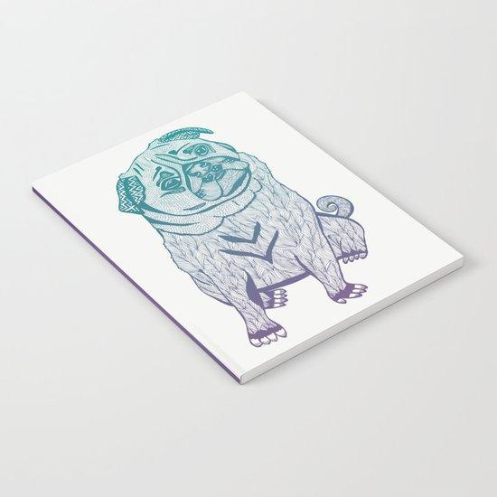 Duotone Pug Notebook