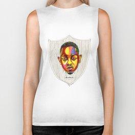"""Kendrick Lamar Artwork - """"Rigamortis"""" Biker Tank"""