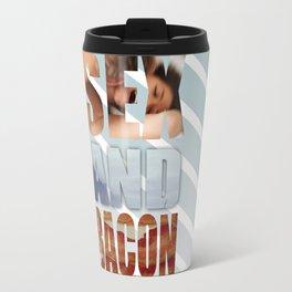 SEX AND BACON Travel Mug
