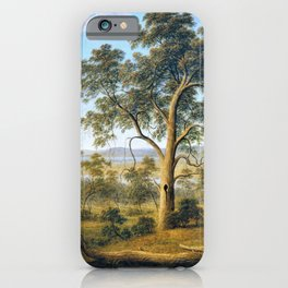 Launceston And The River Tamar - John Glover iPhone Case