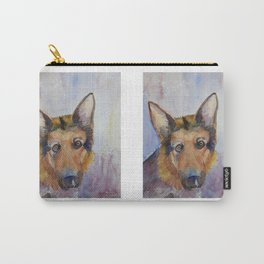 German shepherd - coloristic Carry-All Pouch