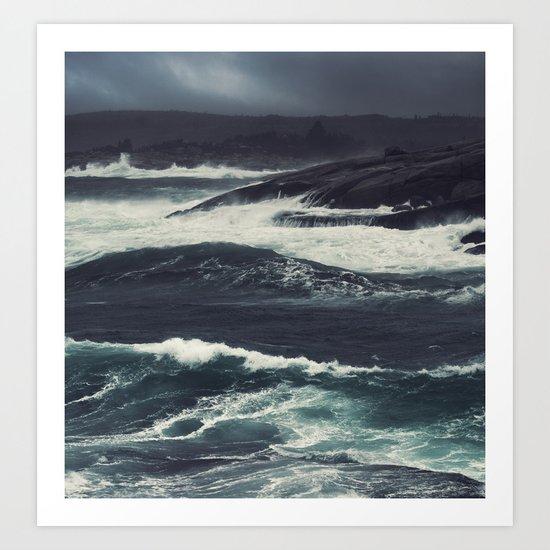 The Dark Tide Art Print