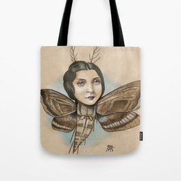 MOTH LADY Tote Bag