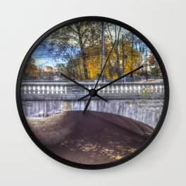 The Headless Horseman Bridge Wall Clock