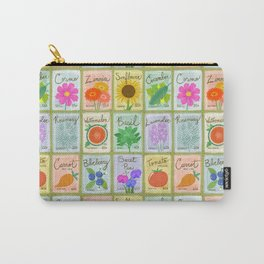 Seed Packets Carry-All Pouch