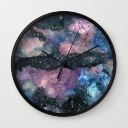 Reflections Galaxy Wall Clock