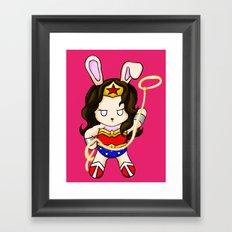 WonderBun Framed Art Print