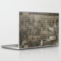 metropolis Laptop & iPad Skins featuring Metropolis by waggytailspetportraits