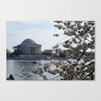 washington dc Canvas Prints featuring Washington DC by Heidi Poulin