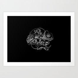 It's ok. Shit Happens Art Print