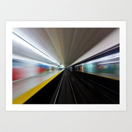 Speed No 2 Art Print