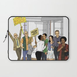 Welcome Home Troy Laptop Sleeve