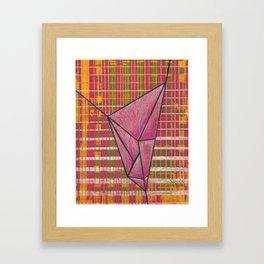 warp and weft // .01 Framed Art Print