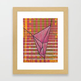 warp and weft // .01 Framed Art Print