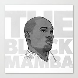 The Black Mamba Canvas Print